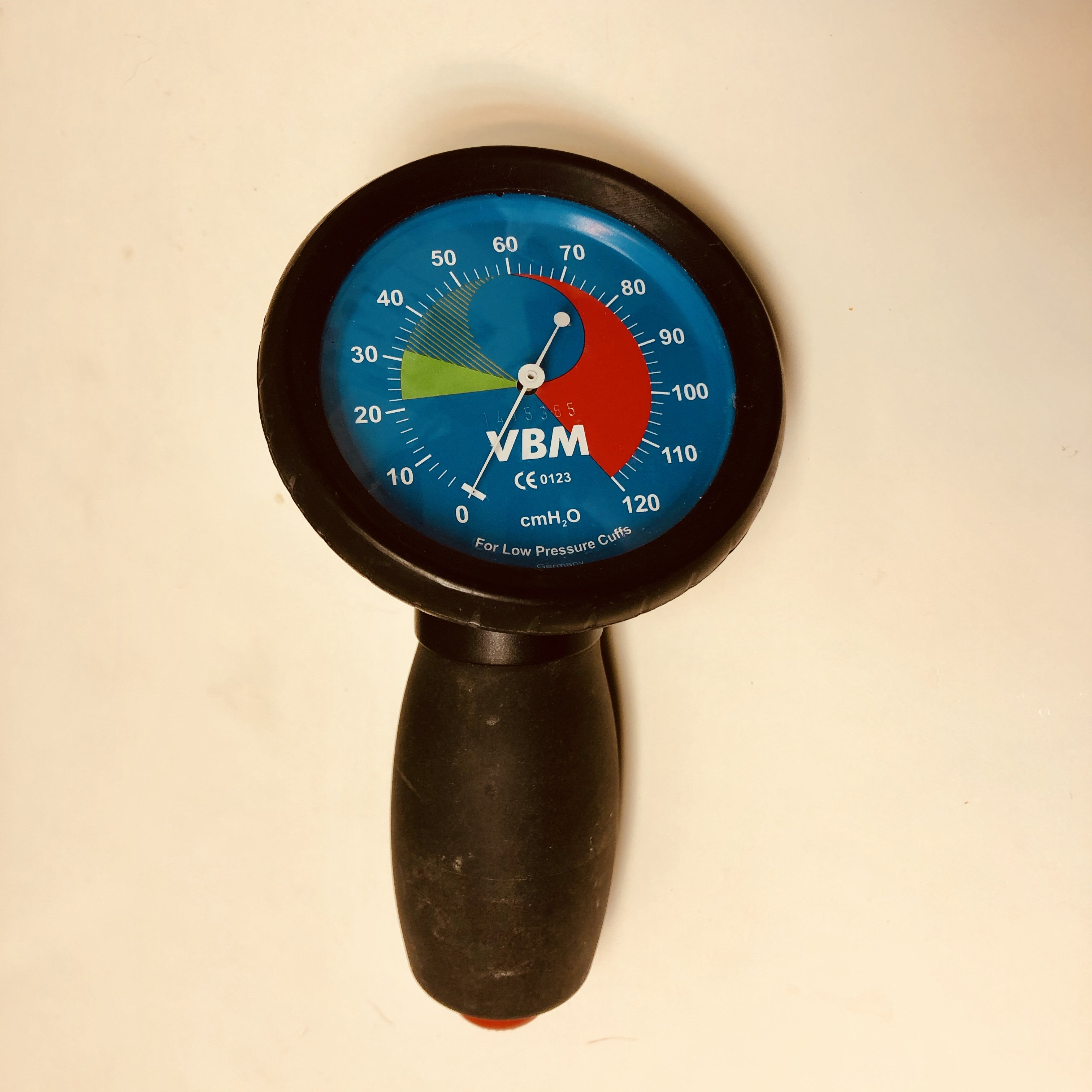 VBM 氣插管Cuff壓力表