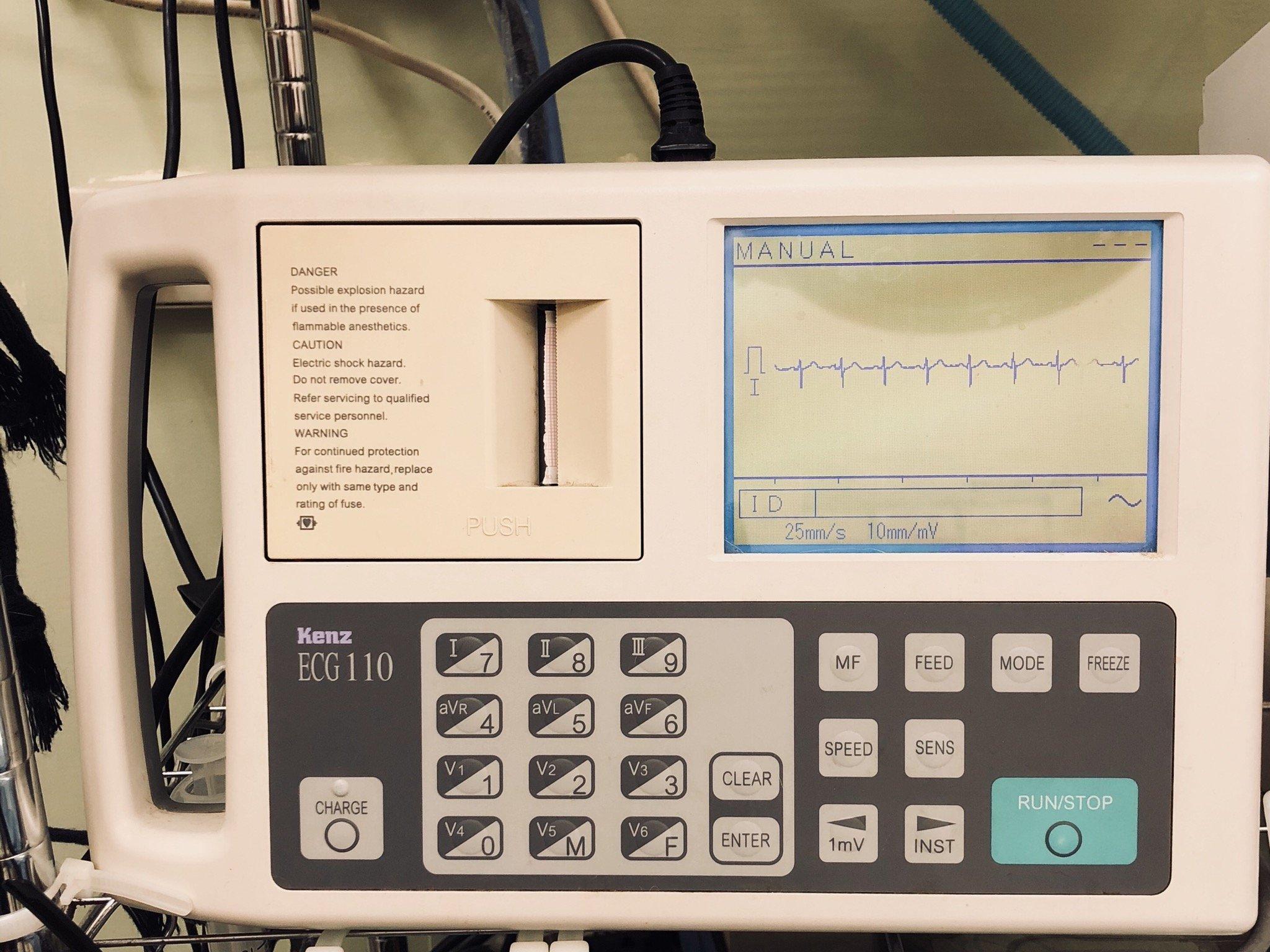 KENZ ECG 110 心電圖儀