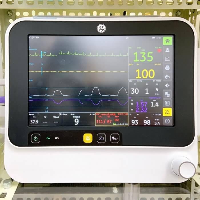 敦品動物醫院 手術高階生理監視器 GE B105